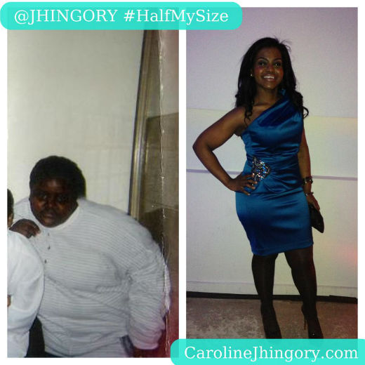 Caroline-Jhingory-Before-and-After-Blue-Dress