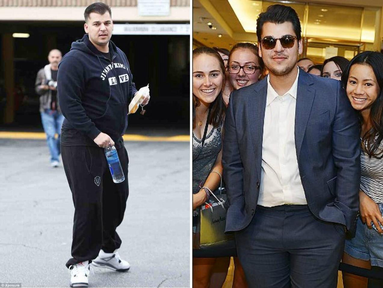 Rob Kardashian Before Weight Loss - Viewing Gallery