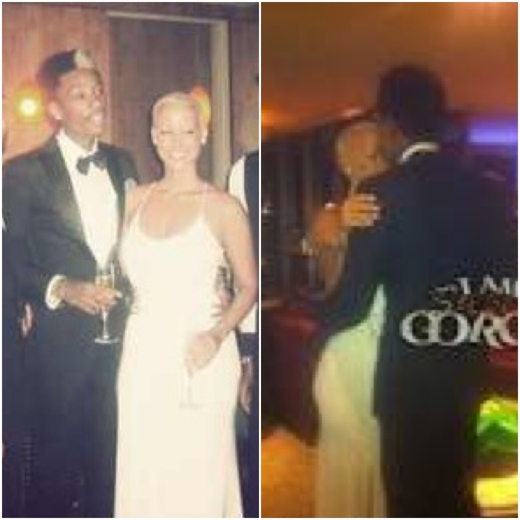 Wiz Khalifa And Amber Rose Wedding Pictures