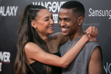 Naya-Rivera-and-Big-Sean-Hangover-3-movie-premiere-2